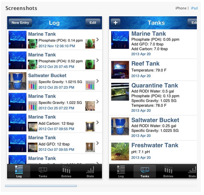 Top 10 most helpful aquarium apps mad hatter 39 s reef for Saltwater fishing apps